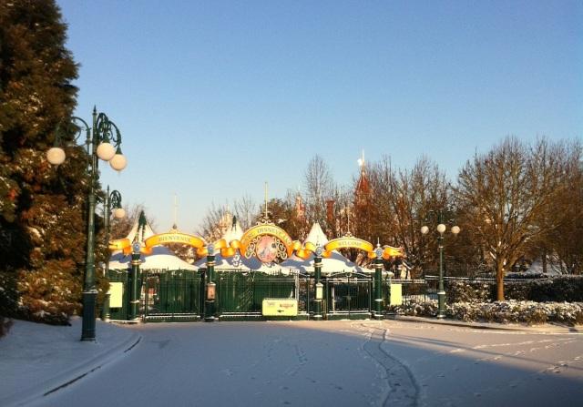 L'une des entrées du parc