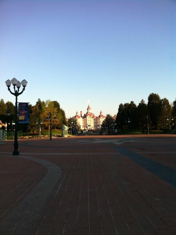 Disney sous un ciel bleu