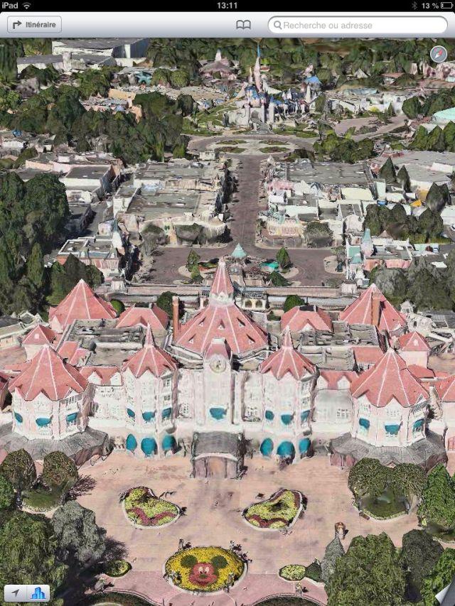 Entrée de Disneyland